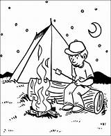 Coloring Camping Pages Printable Bbq Night Sheets Boy Fun Papa Boys Getdrawings Jobs Templates Getcolorings Coloringsun Duathlongijon Template Worksheets sketch template