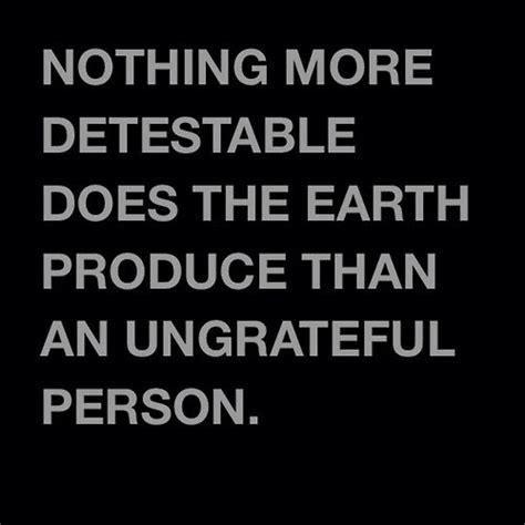 Ungrateful Quotes Proverbs
