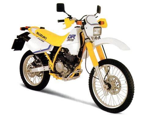 Suzuki Dr350se by Suzuki Dr350 Model History