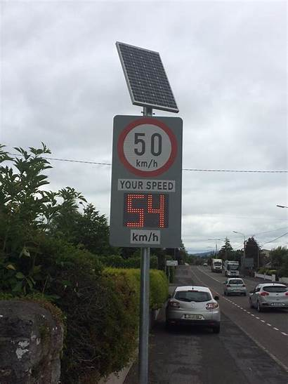 Feedback Sign Driver Speed Led Signs Solar