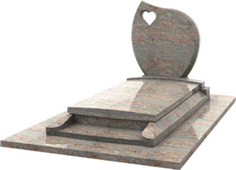 siege en monument éraire moderne stèle avec cœur prie dieu