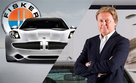 Henrik Fisker Quits Company That Bears His Name