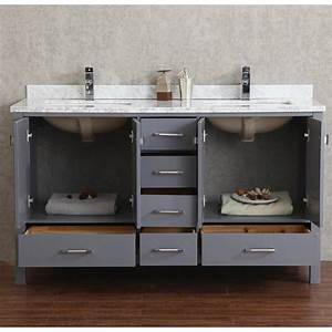 Interior : 60 Inch Double Sink Bathroom Vanity Modern