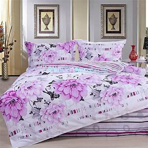 classical cotton floral-stripe collection queen size