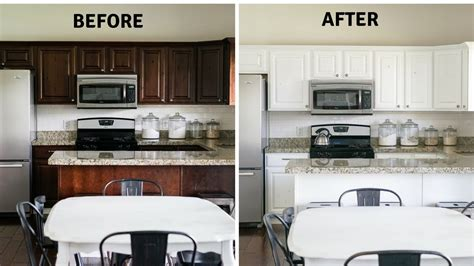 Diy Kitchen Cupboards by Diy Paint Your Kitchen Cabinets Like A Pro