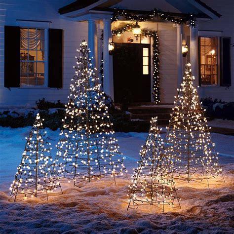 pre lit fold flat metal christmas tree design pinterest