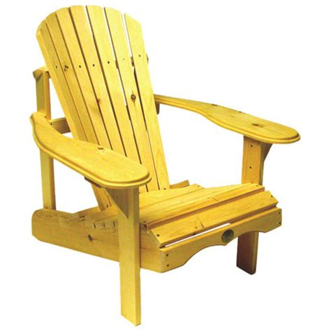 chaise adirondack canadian tire traditional patio adirondack chair white pine yellow bc201p patio chairs seating best