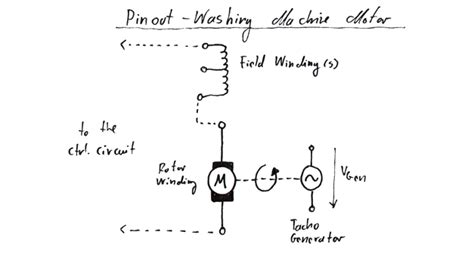 Wiring Diagram For Motor Washing Machine