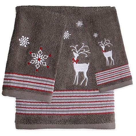 saturday knight reindeer games bath towel bed bath