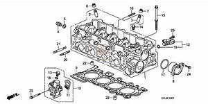 Honda Oem Vtec Solenoid Filter Gasket- K20 K24