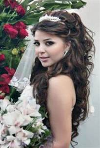 HD wallpapers bride hairstyles half up with veil