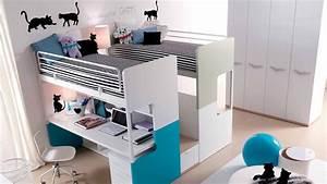 Lit Mezzanine Double : mezzanine double lit my blog ~ Premium-room.com Idées de Décoration