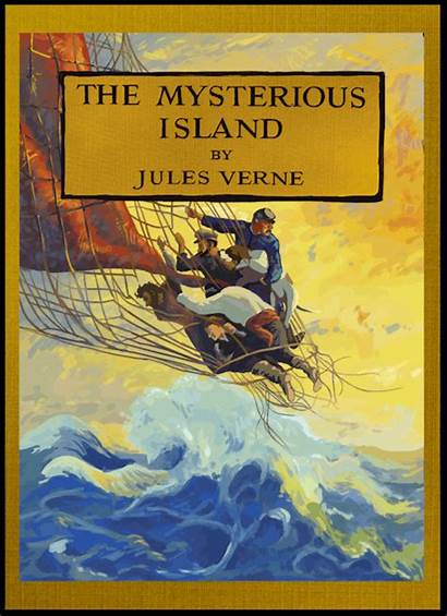 Animated Covers Mysterious Island Verne Jules