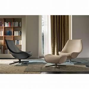 Fauteuil Cuir Design : fauteuil design pivotant coque idkrea collection d 39 exception ~ Melissatoandfro.com Idées de Décoration