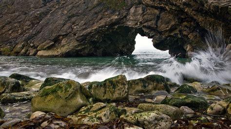 nature, Sea, Water, Water Drops, Waves, Rock, Stones ...