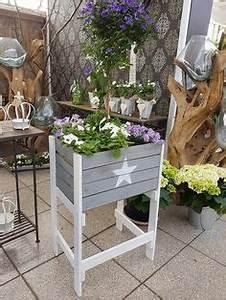Wintergarten 2 Stöckig : alte weinkiste wei lasiert also durchscheinender altholzlook mit seitlichem eingebranntem ~ Markanthonyermac.com Haus und Dekorationen