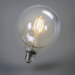 Ampoule E27 Led : ampoule led filament 95mm e27 4w 470 lumen ~ Edinachiropracticcenter.com Idées de Décoration