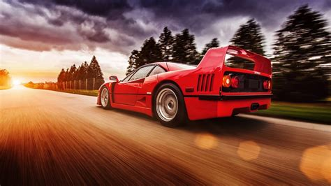 ferrari  red supercar  high speed  android