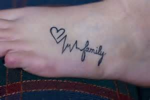 Heart Beat Tattoo Heart Family