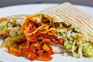 Corned Beef, Cabbage and Kimchi Burrito on Closet Cooking