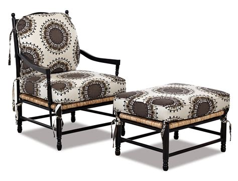occasional chair and ottoman klaussner chairs and accents verano casual occasional