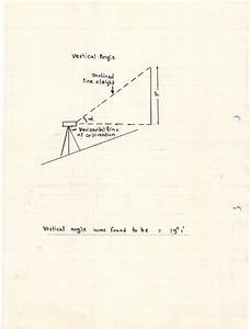 Civil In Work  Measurement Of Vertical Angle Using Theodolite