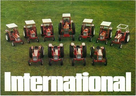 International Tractor Range  354 444 454 474 574 674 966