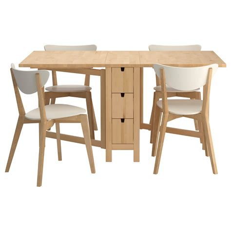 furniture kitchen table norden nordmyra table and 4 chairs ikea for the