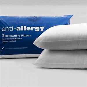anti allergy pillow pair 2 pillows With allergy covers for beds and pillows