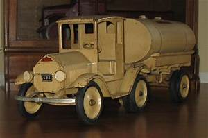 Vintage sturdi toy trucks
