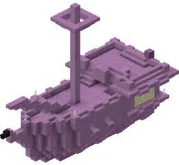 End Minecraft Ship Blueprint