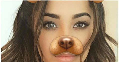 Celebs Love The Puppy Dog Snapchat Filter Us Weekly