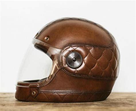 Leather Motorcycle Helmets
