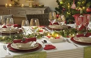 Table De Fete Decoration Noel : table de no l casa table de no l comment d corer une ~ Zukunftsfamilie.com Idées de Décoration