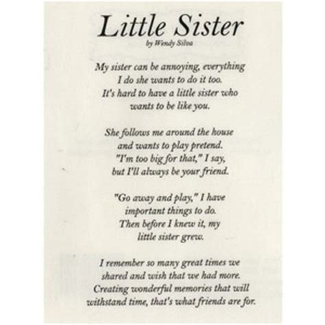 rip quotes for little sister