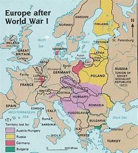 How did European boundaries change after World War 1? - Quora