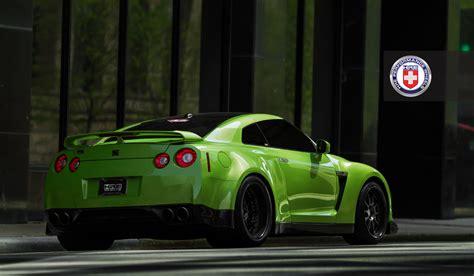 godzilla  green widebody gt   verde ithaca