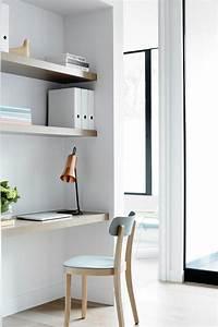 Schreibtisch Im Wohnzimmer : gem tlichen arbeitsplatz im wohnzimmer einrichten ~ Markanthonyermac.com Haus und Dekorationen
