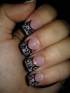 glitter nail designs pretty designs