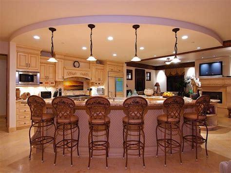 kitchen island seating for 6 50 luxury kitchen island ideas