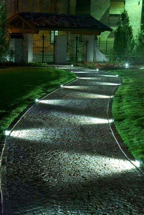 25 best outdoor path lighting ideas on path
