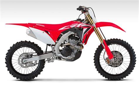 honda motocross 2020 2020 honda crf250r and crf250rx look 18 fast facts