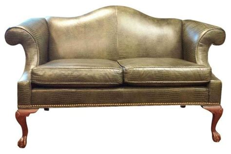 Ethan Allen Leather Sofa by Ethan Allen Leather Loveseat Traditional Sofas By