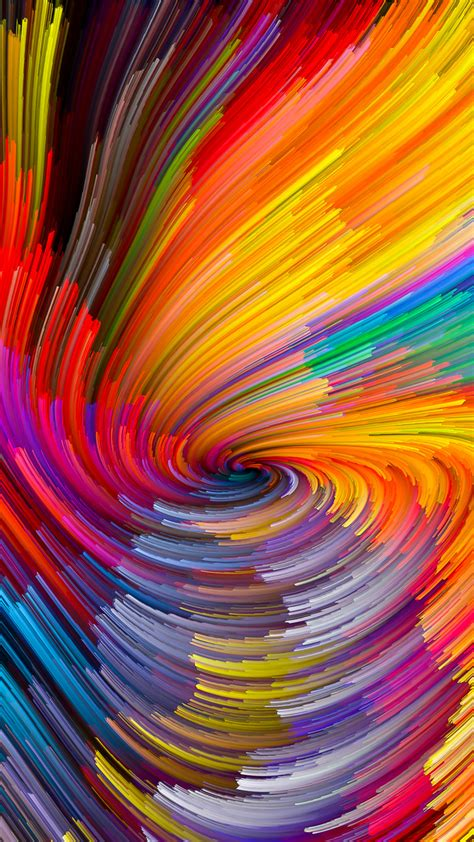 vy digital abstract  color rainbow pattern