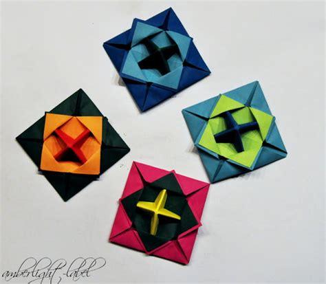 origami spinne falten kindergeburtstag anleitung papierkreisel falten makotokoma spinning top origami