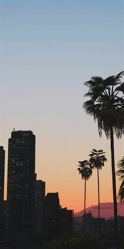 Gta Cityscape Buildings Wallpapers Sunset Tree Iphone