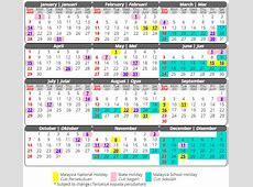 Calendar 2019 malaysia 2019 2018 Calendar Printable with