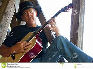 Country Guitar Player stock photo. Image of music, folk ...