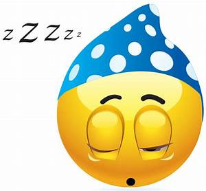 Snoozing Emoticon | Symbols & Emoticons