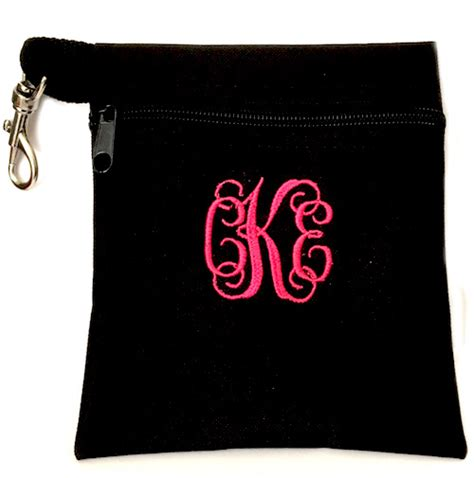 golf tee ditty bag personalized monogrammed